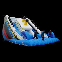 inflatable pool slidesGI128