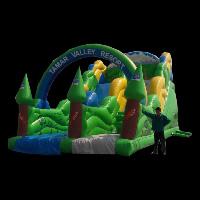 backyard inflatable water slides