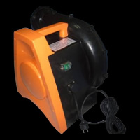 black&orange air blower
