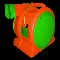 orange&green air blower