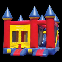 small bouncy castleGL073