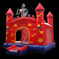 Water Slide Bounce Castle