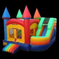 Classic Bouncy Castle With Slide