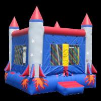 Rocket Small Bouncy Castle