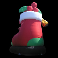 Long nose guy inflatable christmasGM005