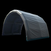 arch shape inflatable tent