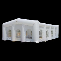 white house inflatable tentGN008