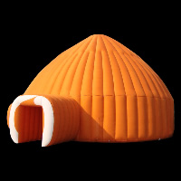 inflatable camping tentGN056