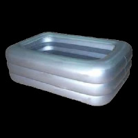 three-layer silver inflatable poolGP028