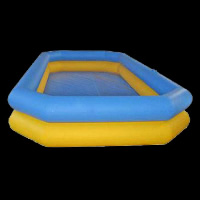 two-layer Inflatable Swimming Pool