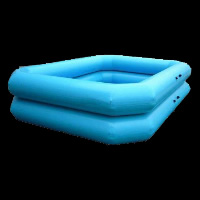 skyblue two layer Blow Up Pool